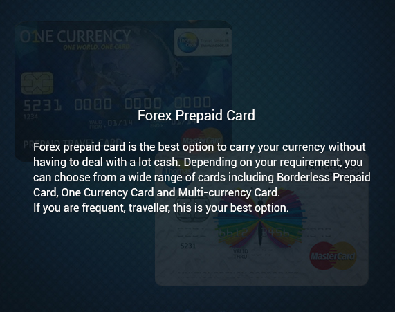 How to buy forex card