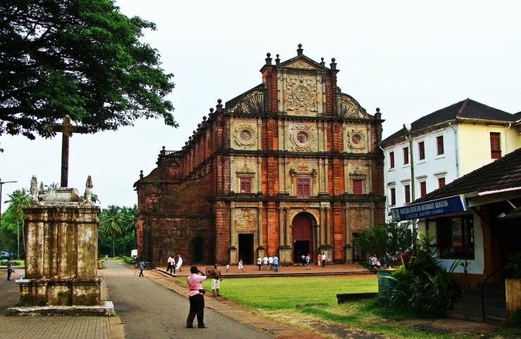 Basilica of Bon Jesus - Goa